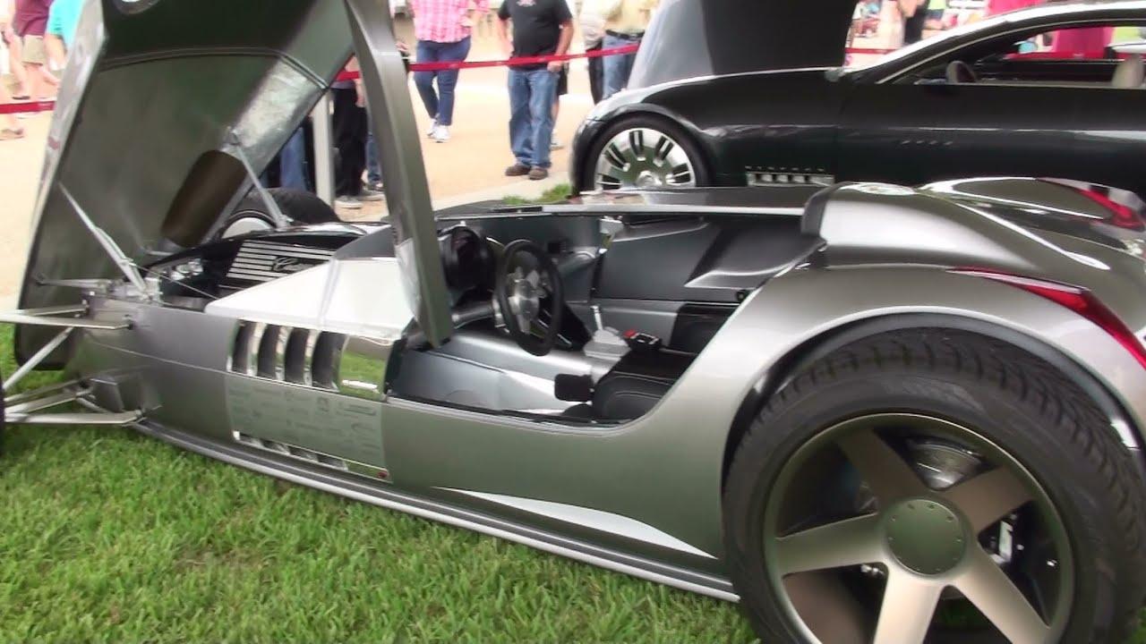 cadillac vsr hot rod concept car youtube