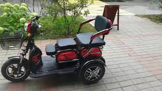 Электро трицикл трансформер2+1 600W48V20AH-электро / Видео