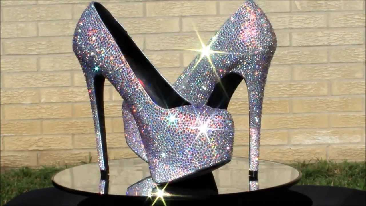 Strass Shoes - Crystal Wedding Shoes ~ Sparkly Shoes ~ Bling Shoes ...