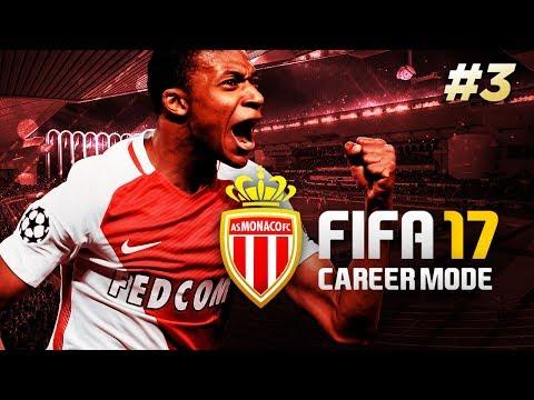 FIRST LEAGUE GAME! | FIFA 17 MONACO CAREER MODE | #3