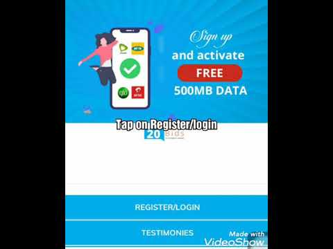 How To Get Etisalat, Glo,Airtel, MTN Free Data On 20BIDS app