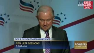 RWW News: Jeff Sessions: My Immigration Position Is the 'Biblical' One