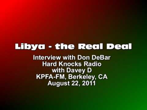 LIBYA: The Real Deal