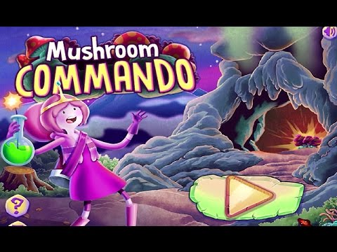 Adventure Time – MUSHROOM COMMANDO (Cartoon Network Games)
