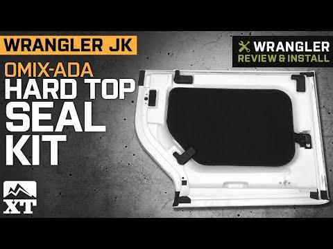 Jeep Wrangler Jk Omix Ada Hard Top Seal Kit 2011 2018 Review