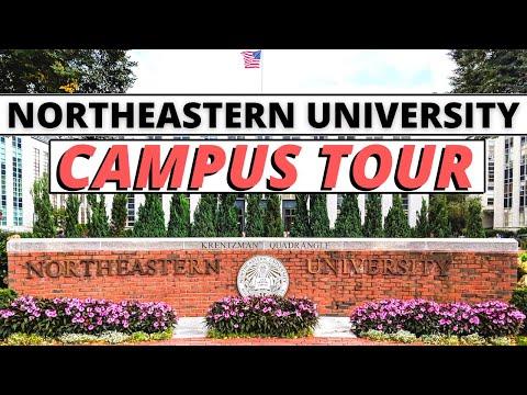 Northeastern University Campus Tour   Indian Maniac