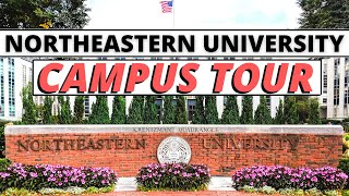 Northeastern University Campus Tour | Indian Maniac