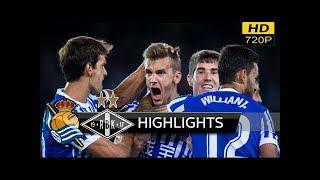 Rosenborg vs Real Sociedad 0-1 - extended Highlights & All Goals (uefa europa league) 23/11/ 2017 HD