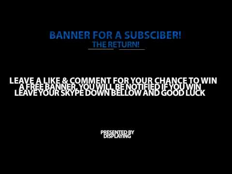 Law Display: Banner For A Subscriber | #4