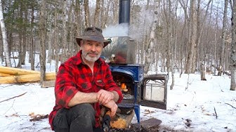 Free Food and Tools from the Forest | Spoon carving and Maple Sugar