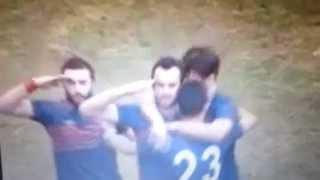 Van'daki maçta Bergamasporlu futbolcu asker selamı verince PKK yandaşları ortalığı karıştırdı