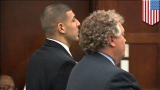 Ex jugador de la NFL Aaron Hernandez acusado de asesinar a sujeto que derramo su bebida en un bar