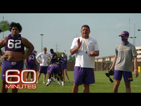 LSU Football Coach Ed Orgeron: The 60 Minutes Interview
