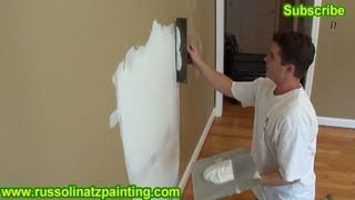 DIY Drywall Repair: How to Fix Holes and Dents in the Wall (Part5)