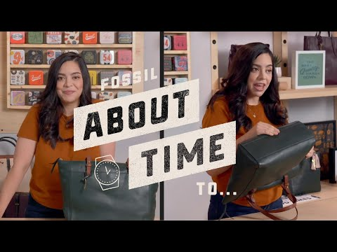 About Time: Taking Care of your Fossil Bag!