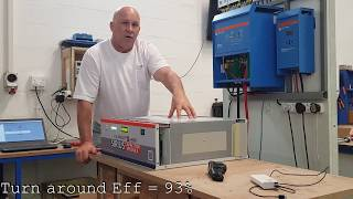 KiloWatt Labs Sirius Super Capacitor battery test 3.5kWh