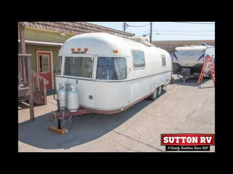 1977 AIRSTREAM 28! A Rare Original Argosy Offered In As-Is Condition!