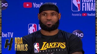 LeBron James Postgame Interview - Game 1 | Heat vs Lakers | September 30, 2020 NBA Finals