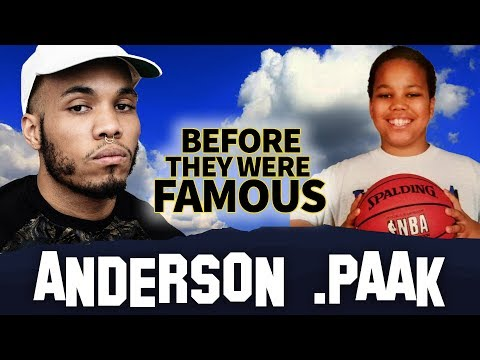 Anderson .Paak  | Before They Were Famous | Oxnard | Biography
