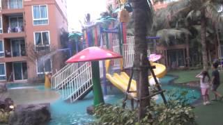 Обзор Атлантис кондо Паттайя  Atlantis Condo Resort Pattaya Tayland