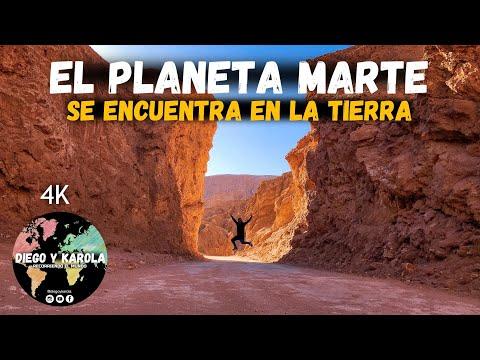 VALLE DE MARTE | LO MÁS PARECIDO AL PLANETA ROJO | CHILE | 4K |