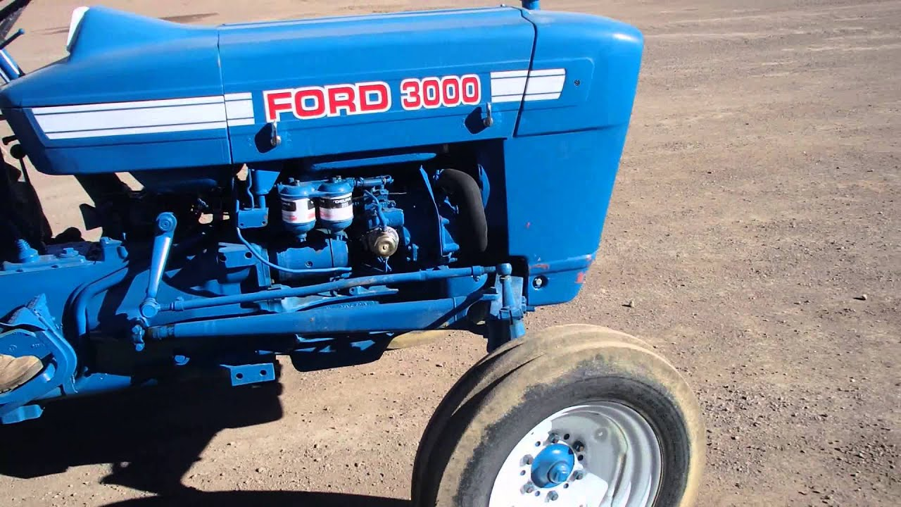 1964 Ford 3000 Tractor : Tractor ford de hp youtube