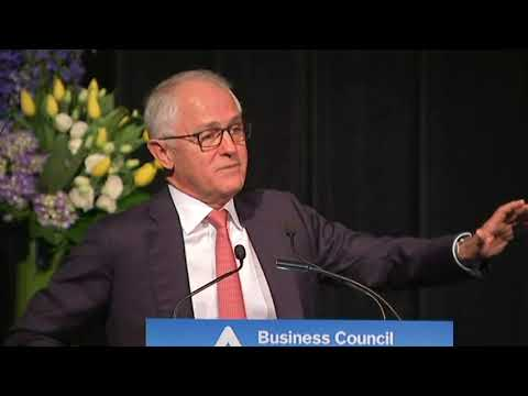 Address to the Business Council of Australia