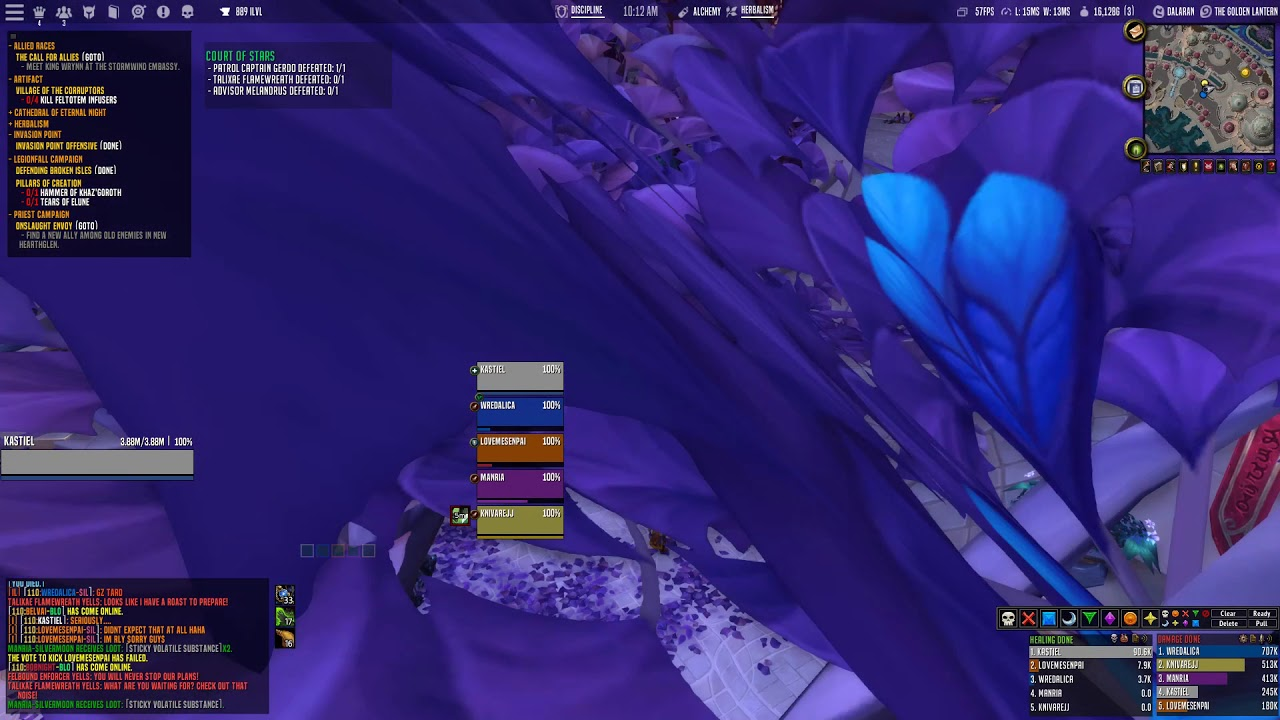 Eternity UI - A World of Warcraft Custom UI