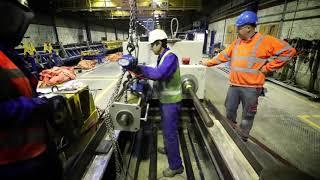 Bouw eerste Circulaire Viaduct van Nederland