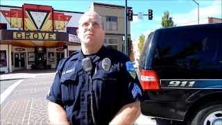 Forest Grove Oregon Police, open carry AR-15.