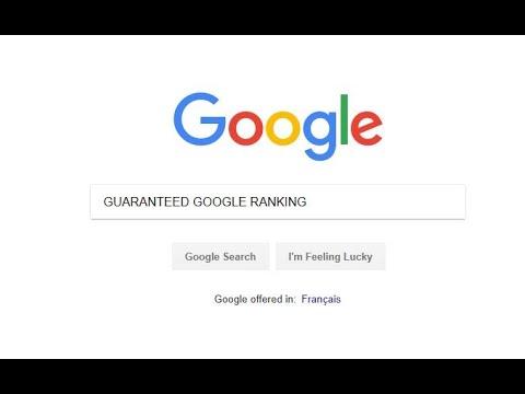 guaranteed google ranking - google page 1 ranking guaranteed? seo & first page rankings