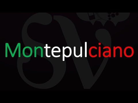 wine article Grape Or Wine What Is Montepulciano  How To Pronounce It