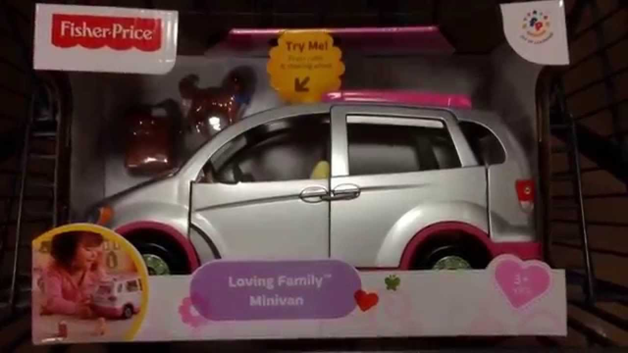 Fisher Price Quot Loving Family Minivan Quot Toy Car Set Toy