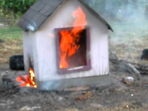 Dog House Fire Part One Youtube