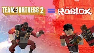 Kwadratowy Team Fortress 2 [Roblox]