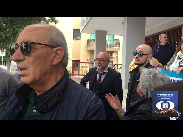 Manifestazione del Comitato CRITIC di Grottaglie contro l'Imu che strozza 28maggio2019