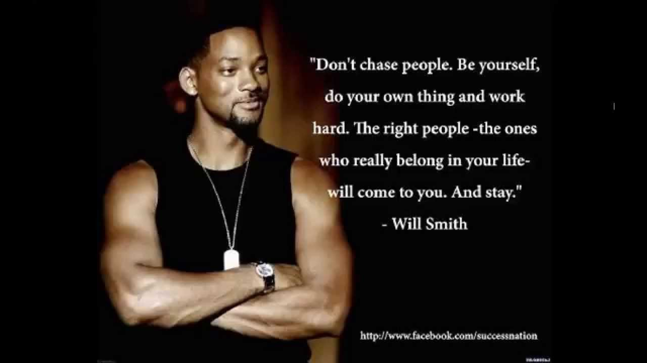 Dont Chase People Become An Entity