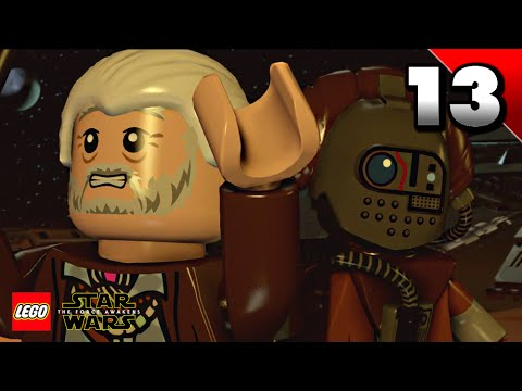 lego star wars: the force awakens walkthrough part 13
