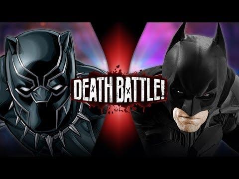 Black Panther VS Batman (Marvel VS DC) | DEATH BATTLE!
