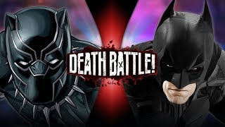 Black Panther VS Batman Marvel VS DC  DEATH BATTLE
