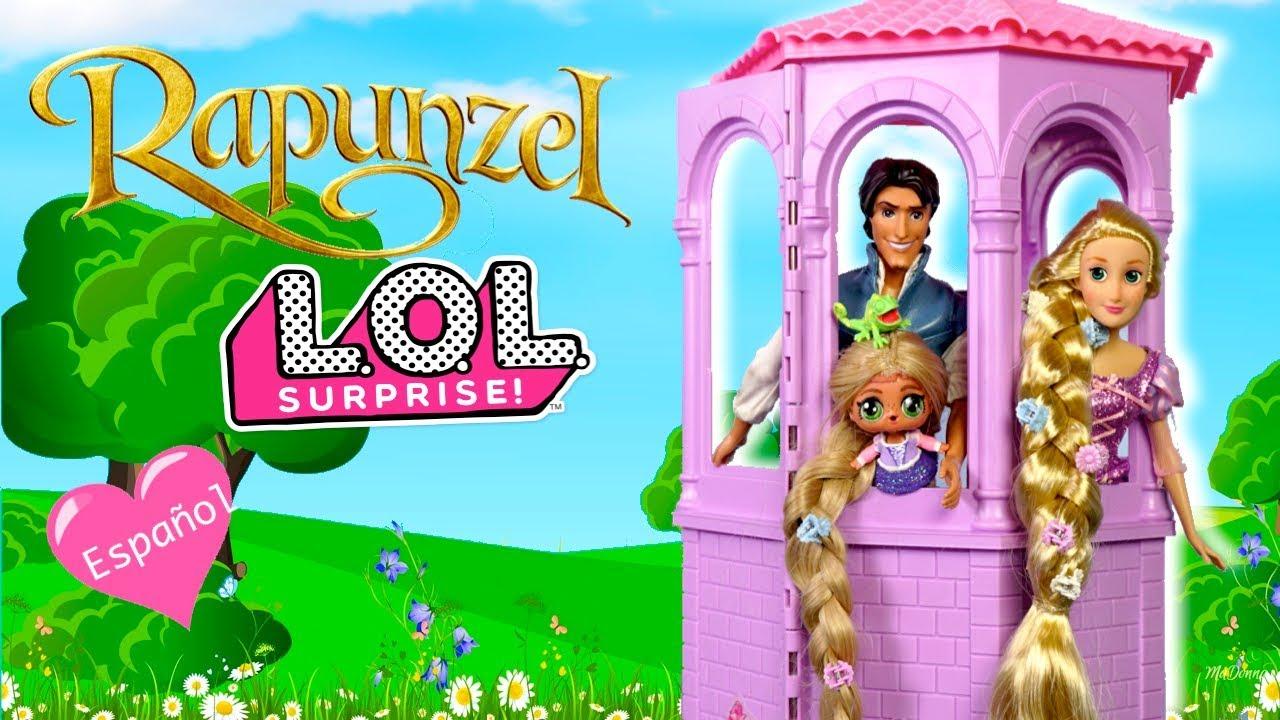 La Con Familia Lol Largo Muñeca Rapunzel Pelo Aladdin Visita Tiene Bebe De YvbfyI6g7