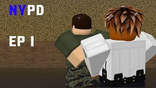 ROBLOX: NYPD Patrol EP #1: So many shooters!