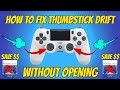 How To Fix Thumbstick/Analog Drift WithOut Opening (Save Money)