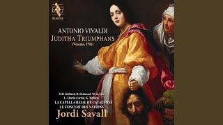 """Juditha Triumphans, RV 644, pars prior: Chœur des femmes de Béthulie """"Mundi Rector de Cælo"""""""