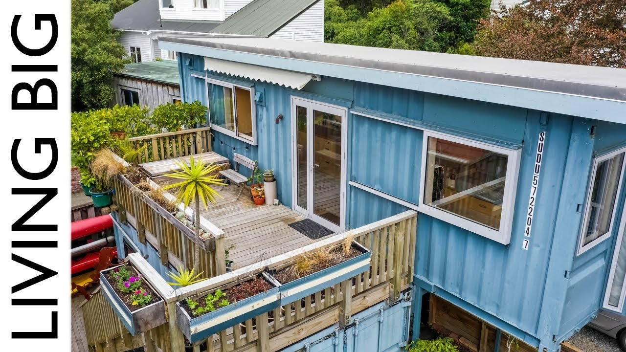 Incredible Shipping Container Home By The Sea Is A Small