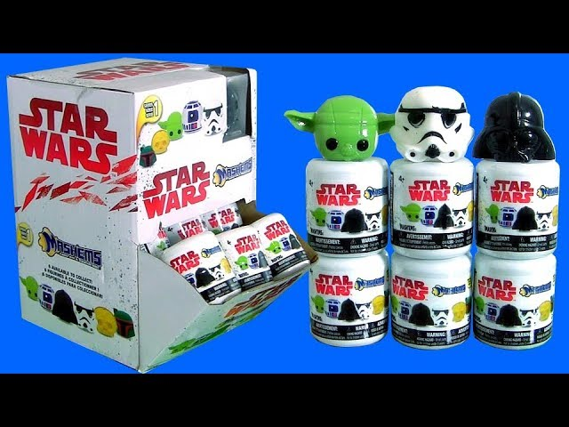 Star Wars Mashems Series 1 toy unboxing