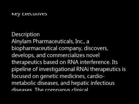 ALNY - Alnylam Pharmaceuticals, Inc.  ALNY buy or sell? Buffett read basic profile