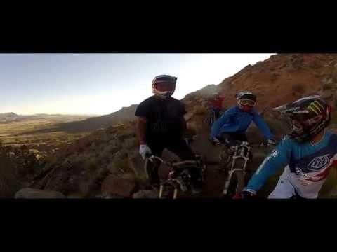 """Darren Berrecloth on """"King Kong"""" Rampage GoPro Mountain Bike video"""