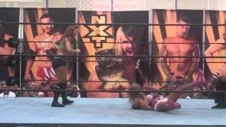 FCW WWE NXT Audrey Marie vs. Emma vs. Paige (II)