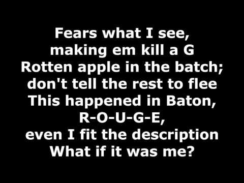 Tech N9ne (ft. Krizz Kaliko) - What If It Was Me - Lyrics